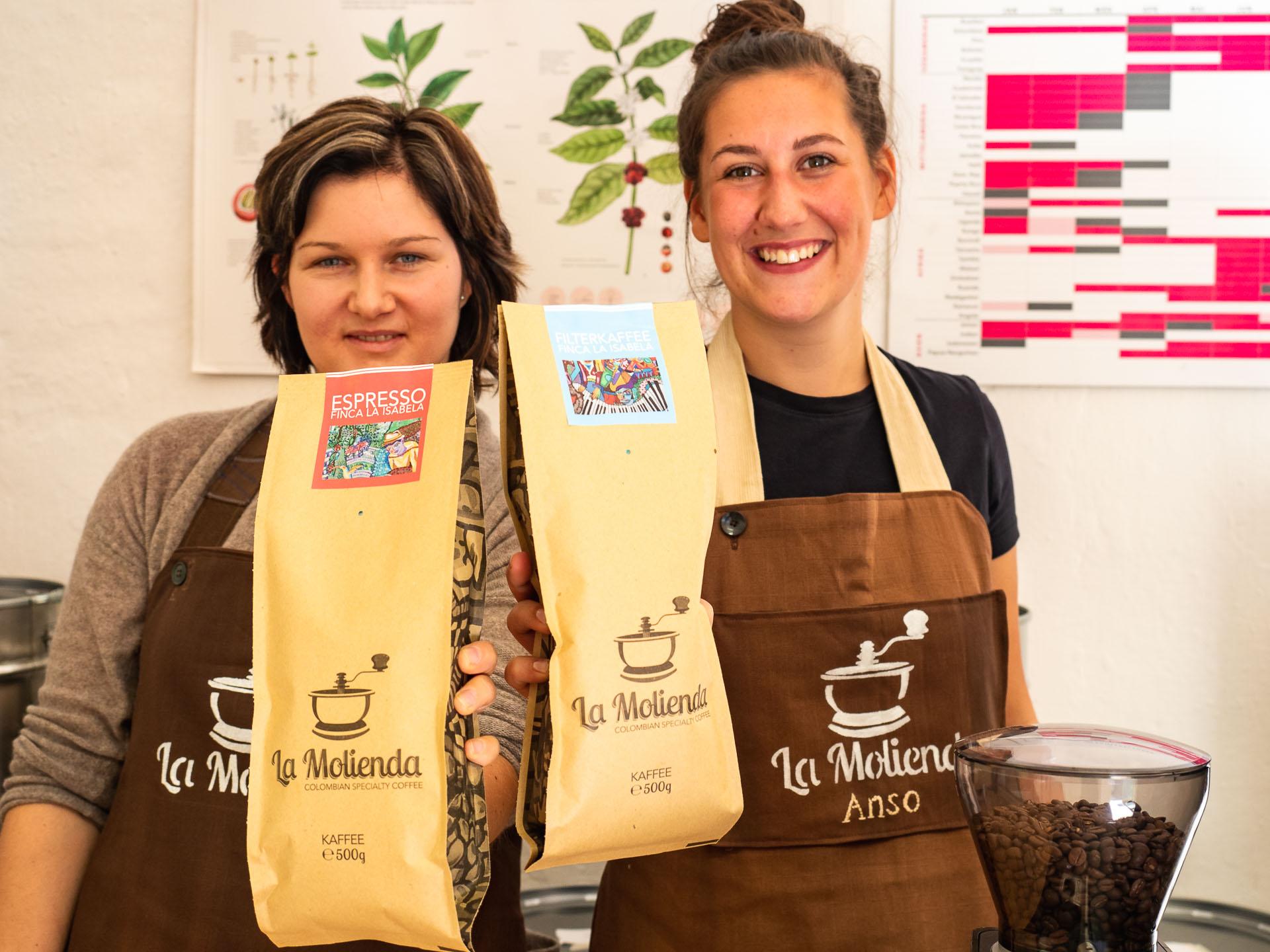 Bei La Molienda Kaffee Oldenburg wird man freundlich empfangen