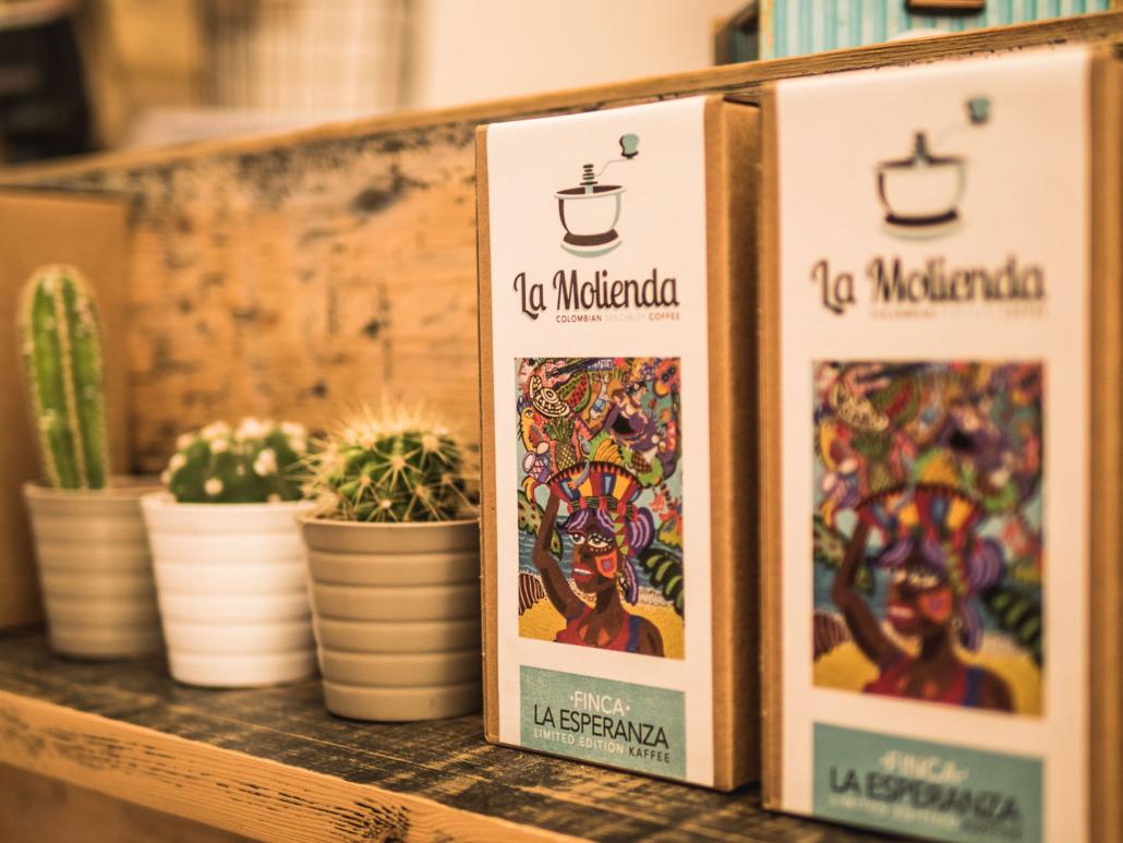 Verkaufsregal La Molienda